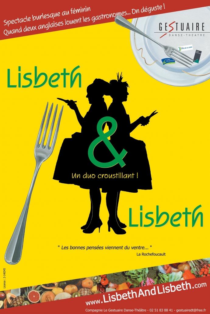 Affiche Lisbeth & Lisbeth