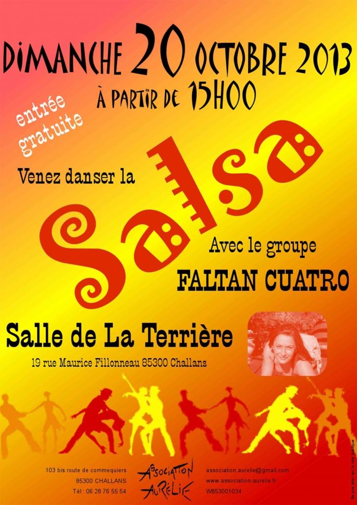 Affiche journée salsa 2013