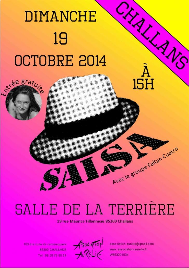 Affiche journée salsa 2014