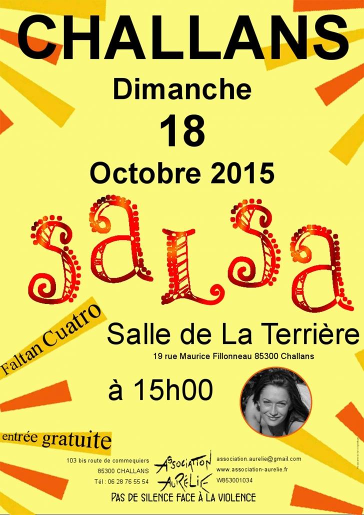 Affiche journée salsa 2015