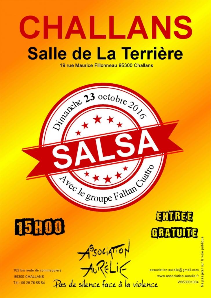 Affiche journée salsa 2016