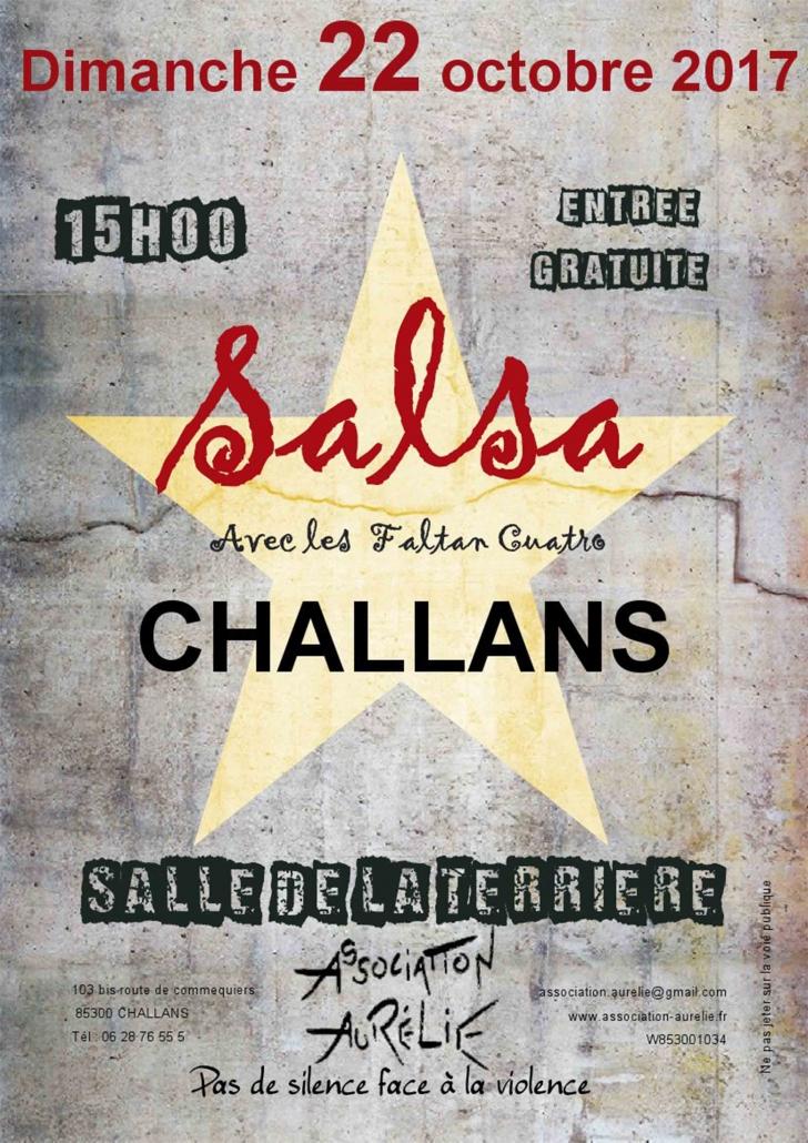 Affiche journée salsa 2017