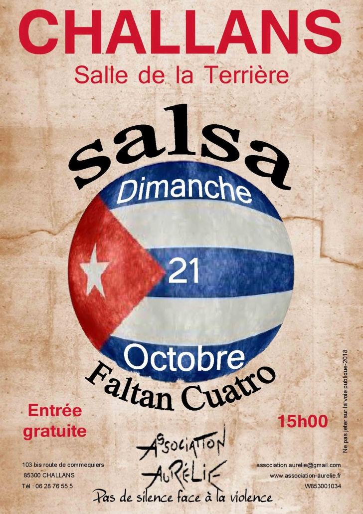 Affiche journée salsa 2018