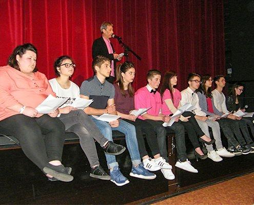 Photo des élèves du lycée Couzinet