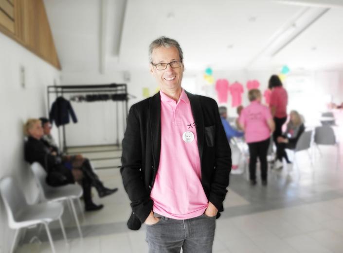 Thierry Bichon, président de l'Association Aurélie