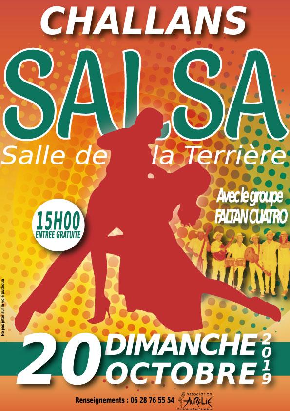 Affiche salsa 2019